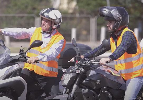חגי אופנועים לימוד נהיגה קטנוע אופנוע